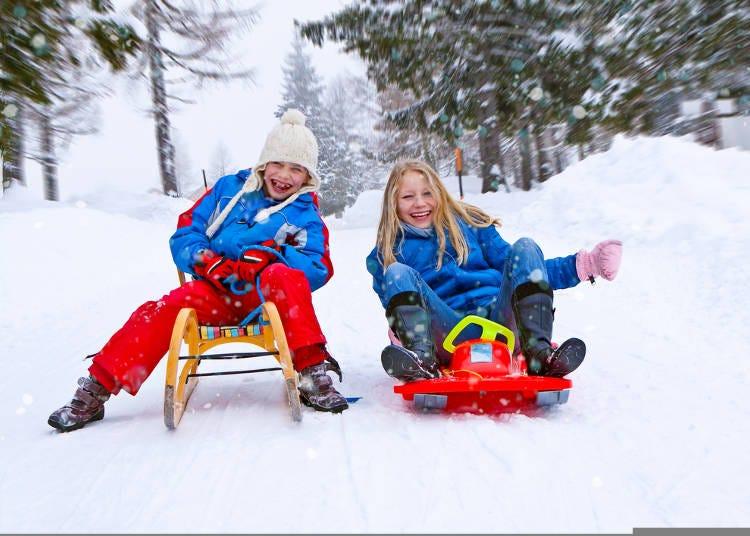 雪と遊ぶアクティビティやフォトジェニックなイベントも要チェック!