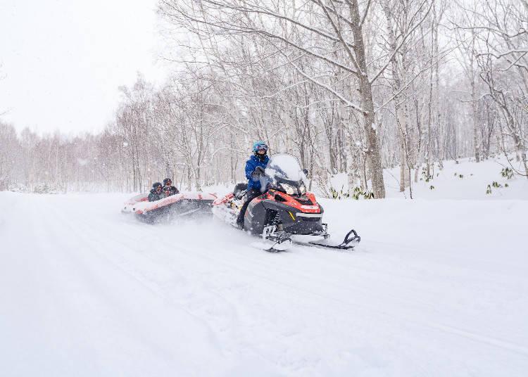 2日目 ニセコのスキー&アクティビティで冬を遊びつくす