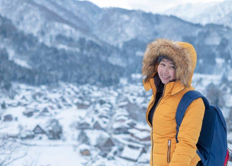 겨울의 홋카이도 여행을 위한 준비와 마음가짐