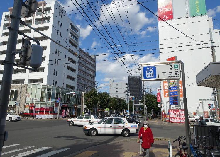 인기 가게들이 모여있는 삿포로 라멘 격전지