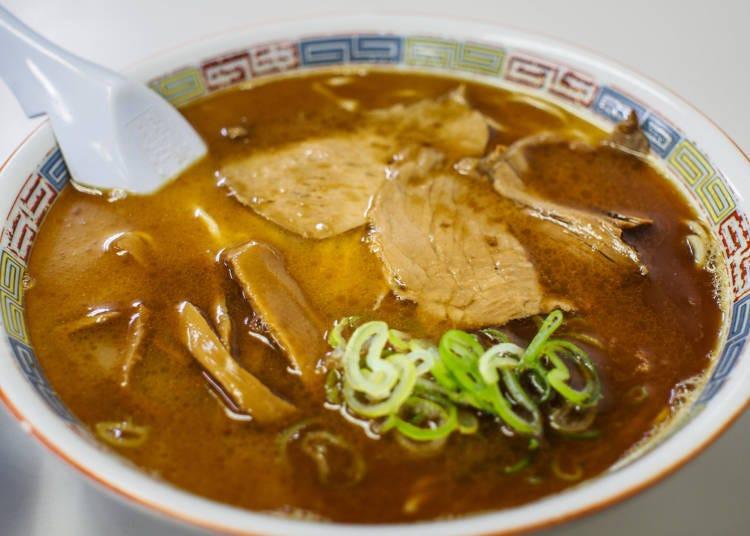 3. Asahikawa's Hearty Ginger Ramen!