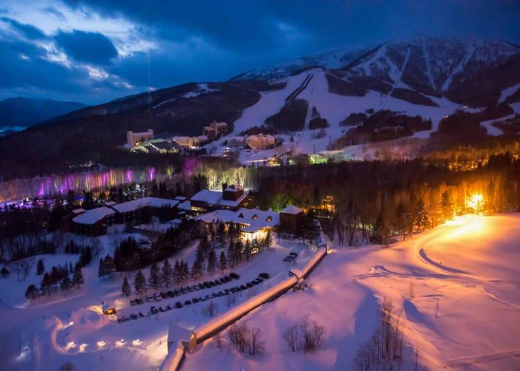 北海道各地に個性的なスキー場が散らばっている