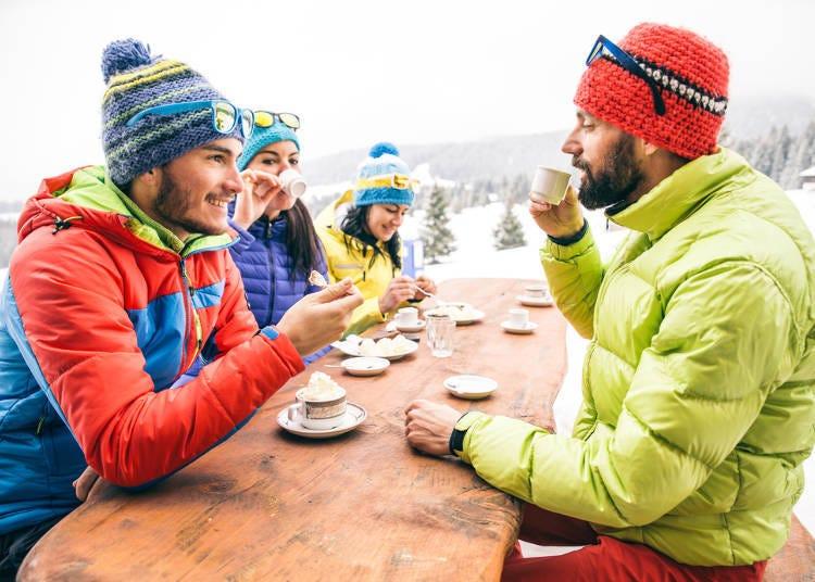 2. 홋카이도의 스키장 레스토랑과 리프트권은 다른 국가에 비해 저렴한 것이 많다