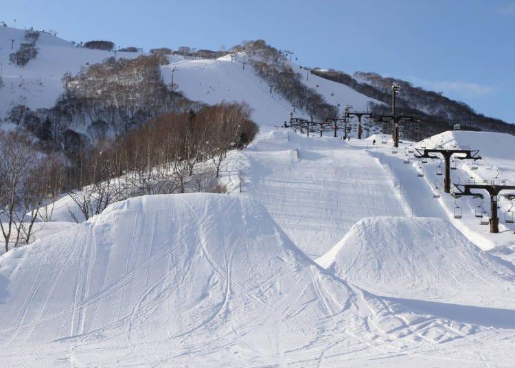5.北海道的滑雪場也開始受到全球暖化的影響