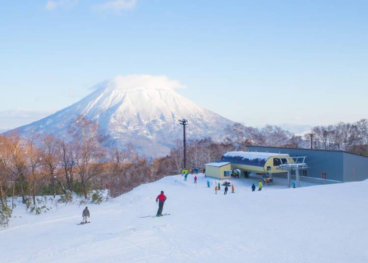 4곳 스키장의 각 특징을 알고, 자신에게 맞는 코스에서 스키를 타자!