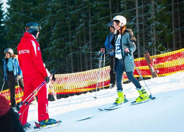 新手必推的滑雪教室