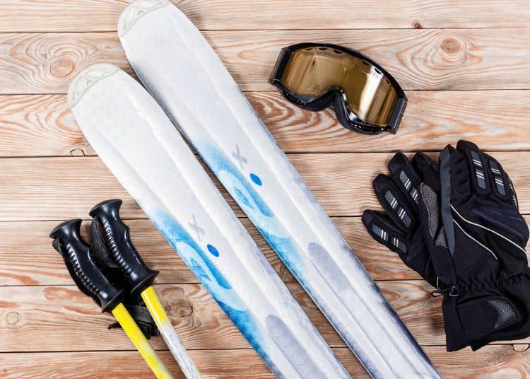 스키 여행 전에 렌탈 서비스 체크!