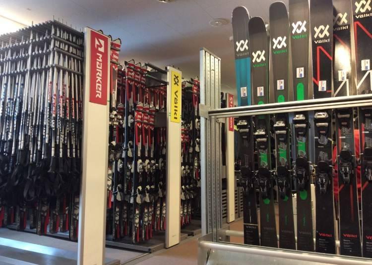 3. 二世古安努普利滑雪場:最靠近雪場的雪具租借店「Sports Rent Ciao」