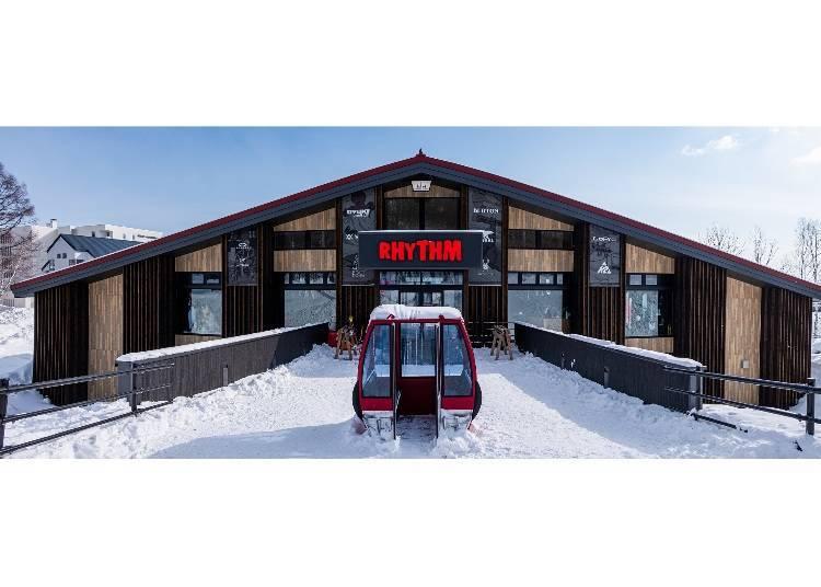 5. 親切的工作人員為你客製提點最適合的滑雪裝備「Rhythm Niseko」