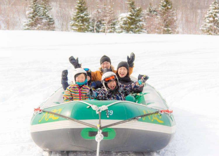 從狗拉雪橇到騎馬!關注留壽都才有的雪上活動