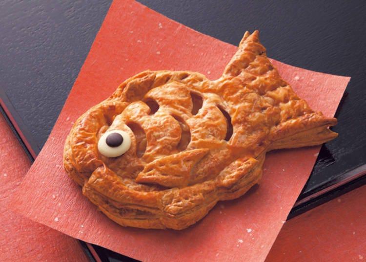 2. 北菓樓:炒熱「恭賀」氣氛的蘋果派