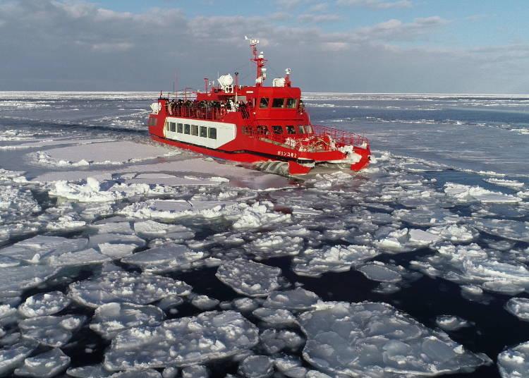 8. 流冰觀光船「Garinko號」
