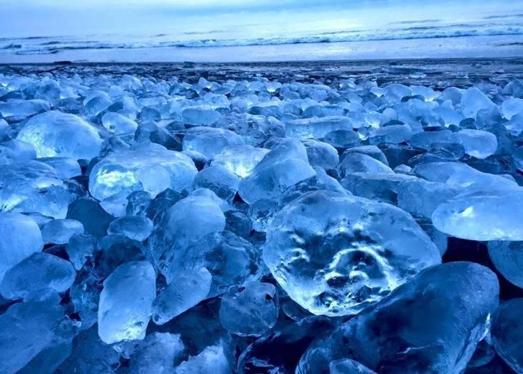 10. 像寶石般的結冰「Jewelry Ice(寶石冰)」