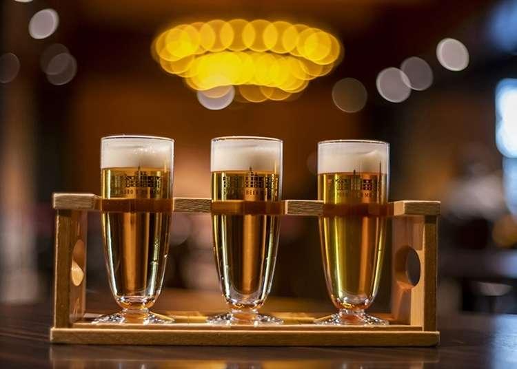 본고장 홋카이도에서 삿포로 맥주를 즐기자! 어떤 종류가? 어디서 마실 수 있나?