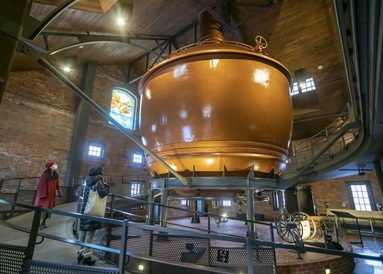 日本唯一邊品嘗啤酒邊學習的「札幌啤酒博物館」
