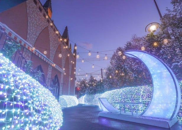 札幌冬天必玩10项体验!玩雪、灯饰、温泉应有尽有