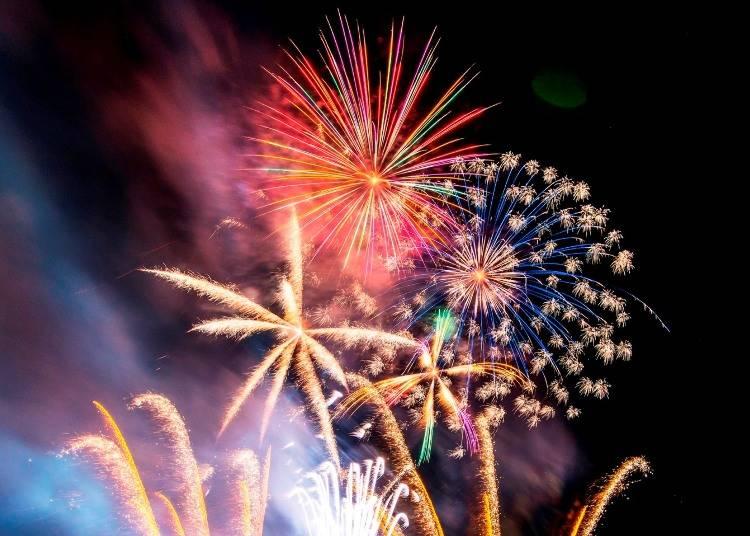 1.ルスツリゾートで盛大に1年のフィナーレを祝う