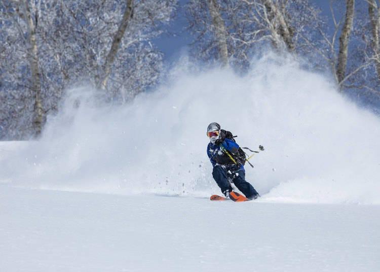 10. 니세코에서 새해 첫 스키타기