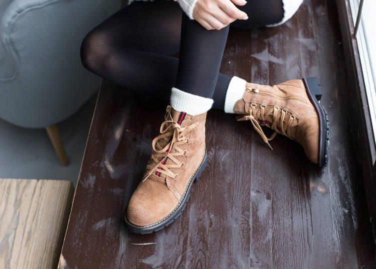 冬季服裝日文單字-鞋子篇