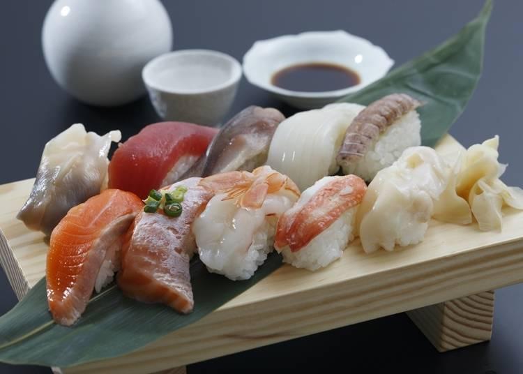 3. Sushi/Kaisendon