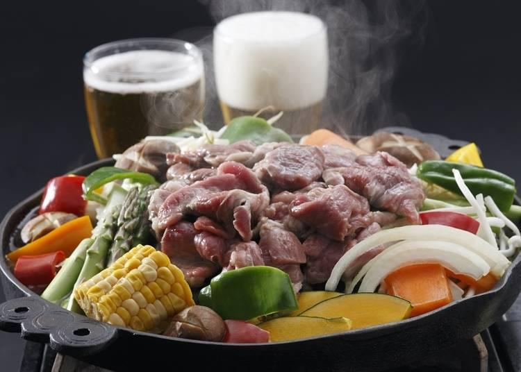 札幌必吃②成吉思汗烤肉