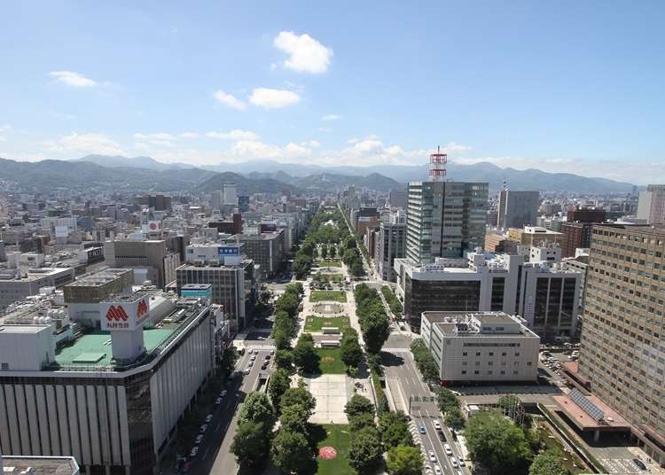 Guide to Central Sapporo: Highlights Of Odori Park & Sapporo TV Tower