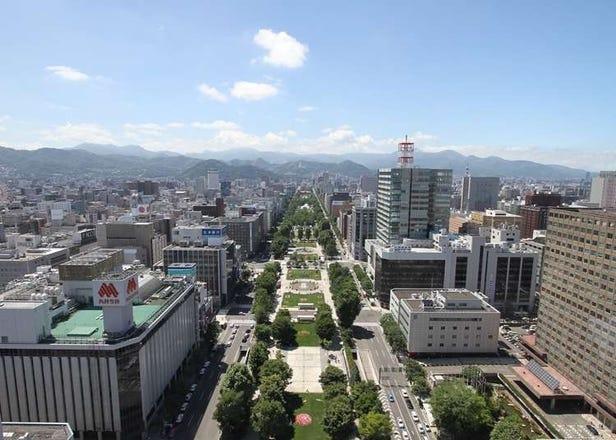 札幌の中心地!大通公園&さっぽろテレビ塔の見どころ完全版