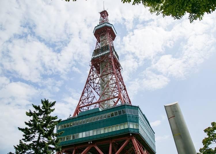 삿포로 텔레비전 탑의 볼거리는?
