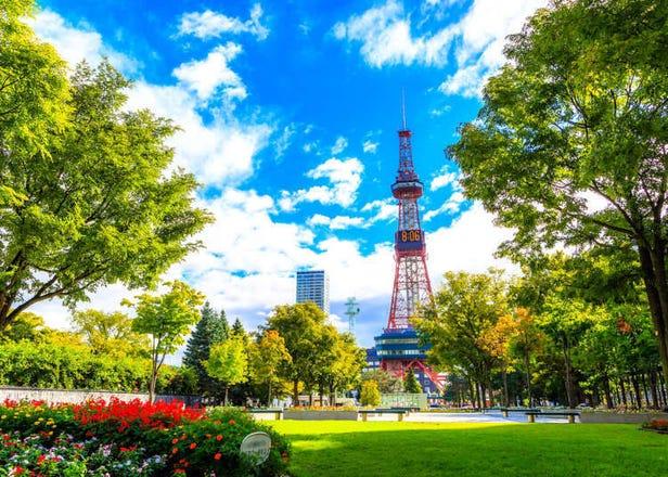 札幌「大通公园&札幌电视塔」攻略:交通、展望台、周边住宿、玩乐重点