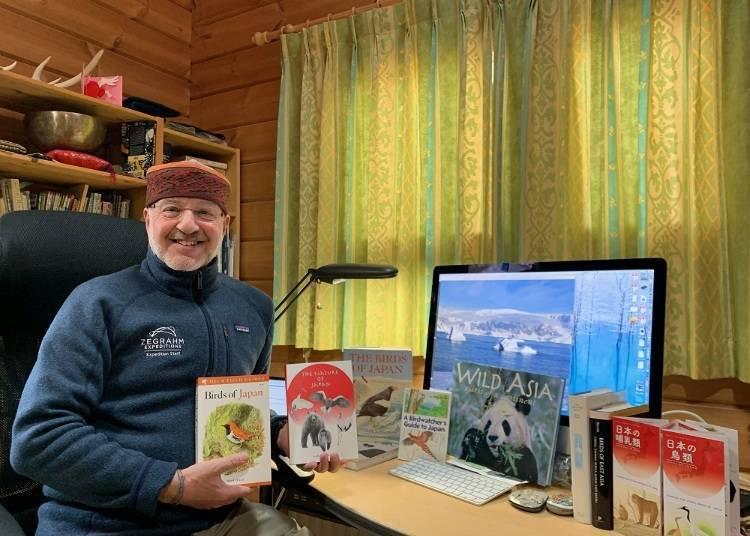 采访来自英国的大自然导游Mark Brazil博士