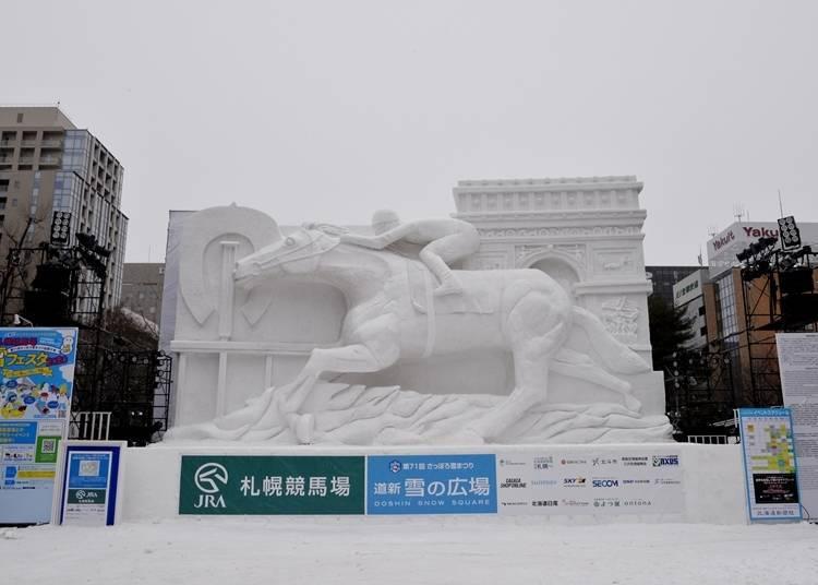 2. 參加「札幌雪祭」