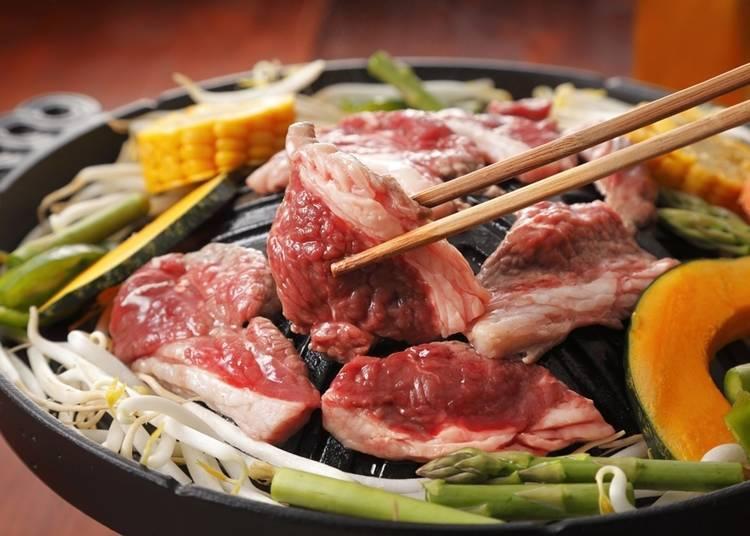 10. 飽嘗北海道的「成吉思汗烤肉」