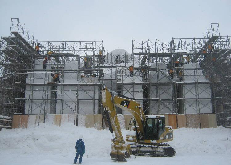 ■雪雕製作專題【1月開始依序開始轉播】