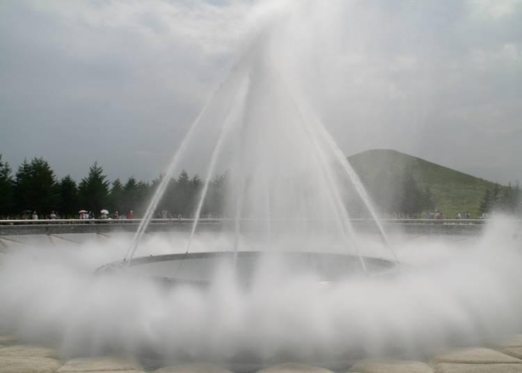 ■ 캐서린 씨 (미국 출신으로 일본 거주 경력 15년)의 추천 명소 1. 자연과 예술이 조화를 이루는 '모에레누마 공원'