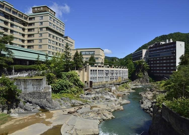 7.札幌近郊的溫泉~定山溪溫泉