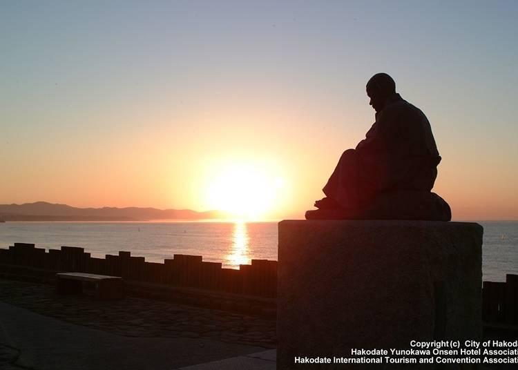 6 . 하코다테의 역사를 바라봐 왔던 '오오모리 하마카이간(해안가)'