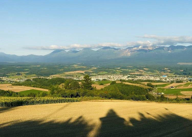 7. Sembo Pass: Where you can take in all of Furano Basin at leisure