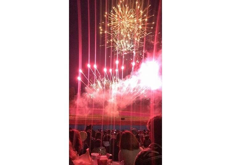3. Nakafurano Lavender Festival: Where fireworks fall like shooting stars