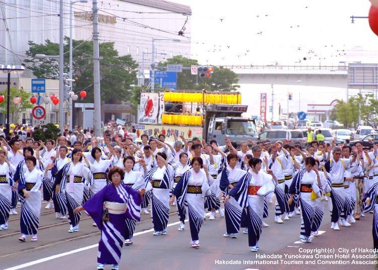 8月 函館港まつり(函館市)