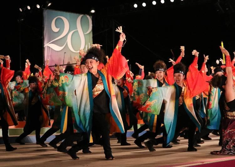 6월 YOSAKOI 소란 축제(삿포로시)