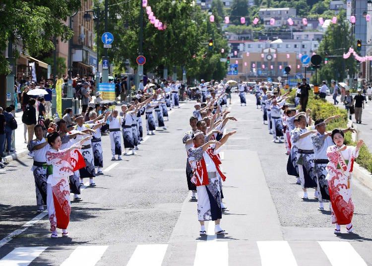 7월  오타루 조수 축제(오타루시)