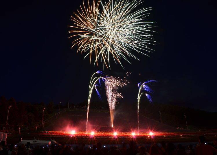 7월 나카후라노 라벤더 축제(나카후라노쵸)