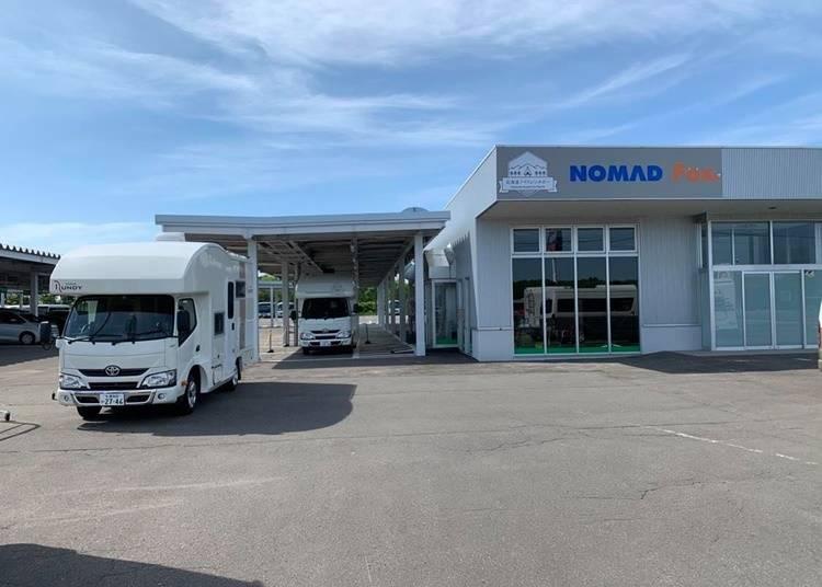 2)北海道ノマドレンタカー 千歳店