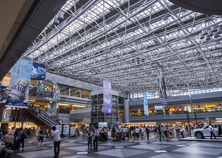 【第一天】  10:30 在新千歲機場租車前往小樽