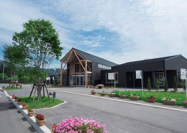 12:00 在聚集了十勝所有美食的「國道休息站GardenSPA 十勝川」享用午餐