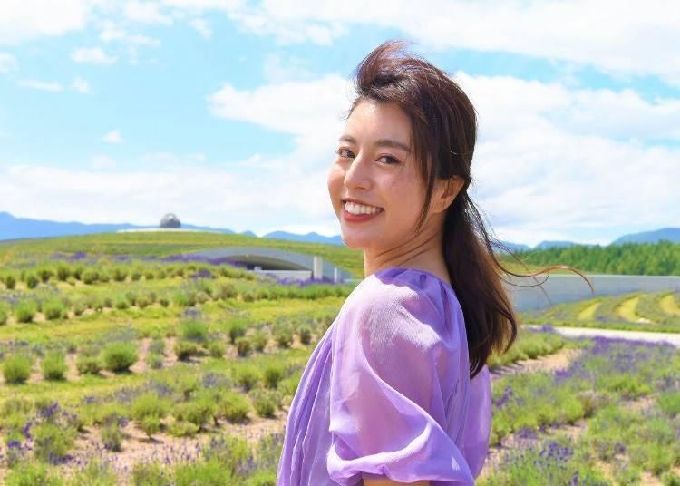 기간 한정으로 '라벤더 축제 산책로(기도의 길)'도 개최