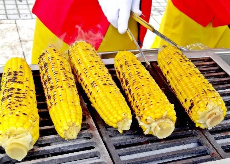 玉米是北海道的夏日代表物!