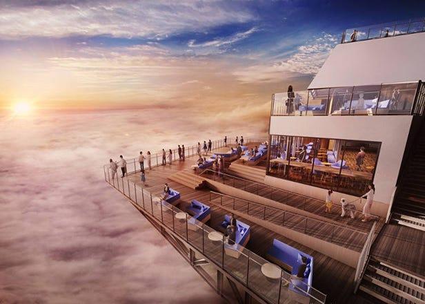 北海道星野TOMAMU度假村雲海平台改建完成!徜徉在雲海中品嘗可愛雲朵甜點