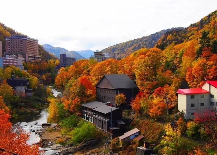 1.いで湯の香り漂う札幌の奥座敷「定山渓」の紅葉