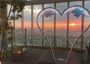 '오사카하루카스300' 등 아베노 하루카스 전망대에서 경험하는 상상조차 할 수 없는 하늘산책.